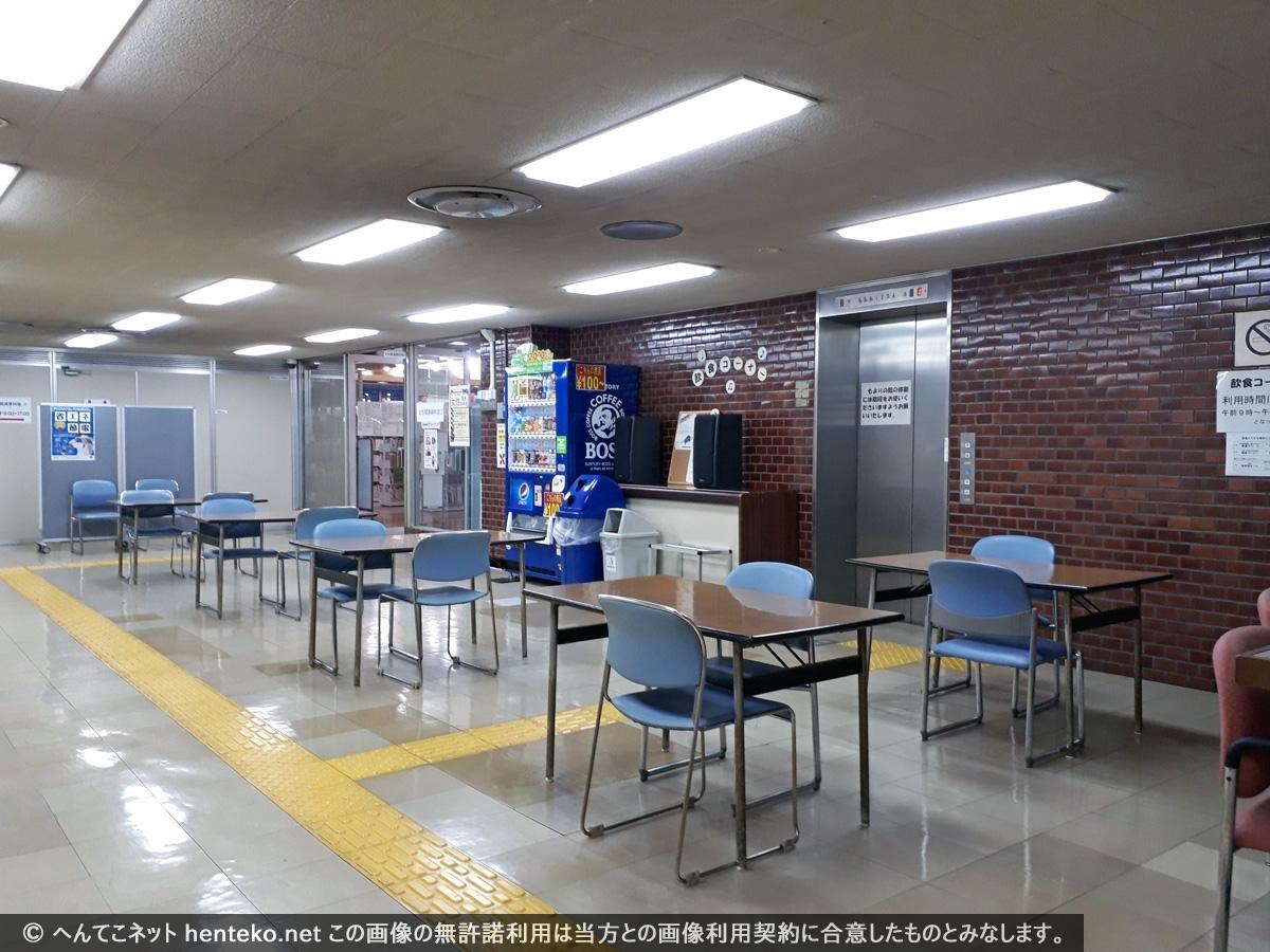 地下1階飲食コーナー